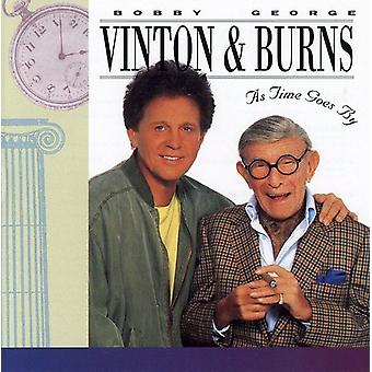 Vinton/Burns - As Time Goes by [CD] USA import