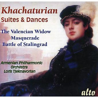 A. Khachaturian - Khachaturian: Suites & Dances [CD] USA import