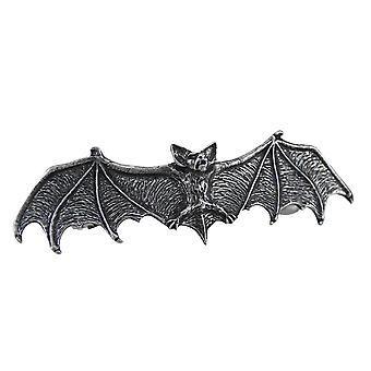Darkling Bat Gothic Pewter Hair Slide