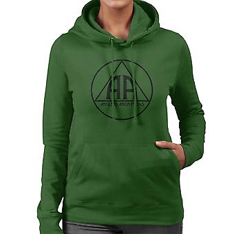 Anglers Anonymous AA Logo Women's Hooded Sweatshirt