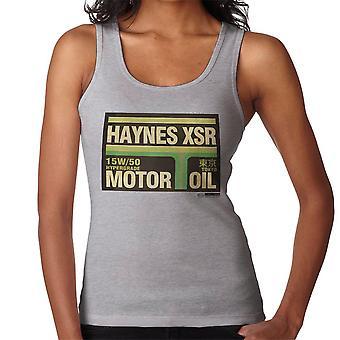 Haynes Brand XSR Tokyo Motor Oil Women's Vest