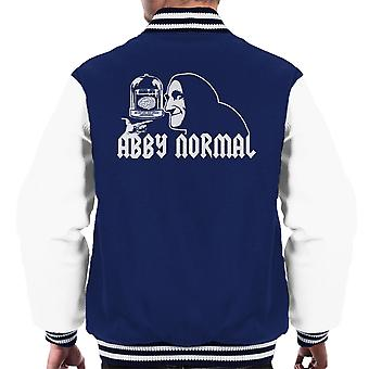 Abby Normal Young Frankenstein Men's Varsity Jacket