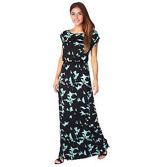 KRISP Tie Dye Jersey Maxi Dress