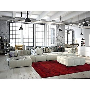 Flat pile carpet modern high quality modern rugs with gradient red offer