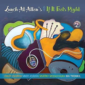 Lunch at Allen's - If It Feels Right [CD] USA import