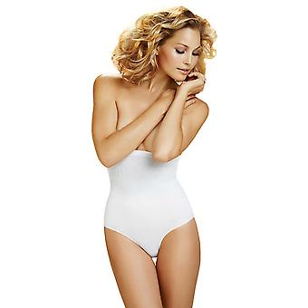 Damen Body Wrap Shapewear White überlegene Derriere High-Waist Panty 49510