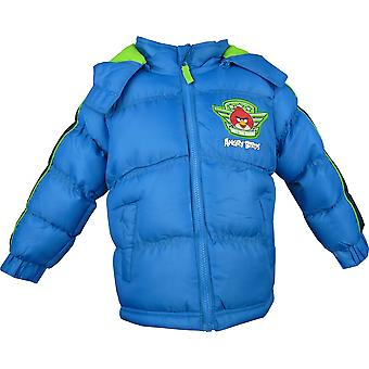 Boys Angry Birds Winter Hooded Puffer Jacket HO1222
