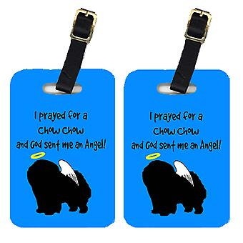 Carolines Treasures  AN1125BT Pair of 2 Chow Chow Luggage Tags