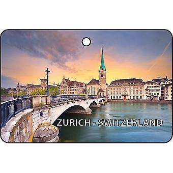 Zurich - Switzerland Car Air Freshener