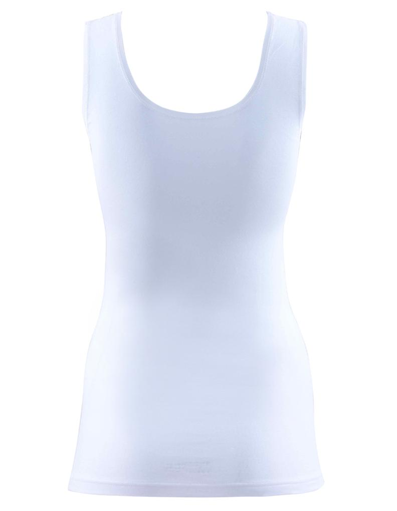 BlackSpade Private White Cotton Lace Singulett Weste Top 1957