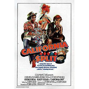 California Split Movie Poster (11 x 17)