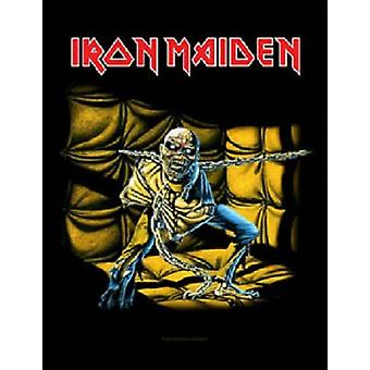 Iron Maiden Back Patch Piece Of Mind band logo new Official (36cm x 29cm)