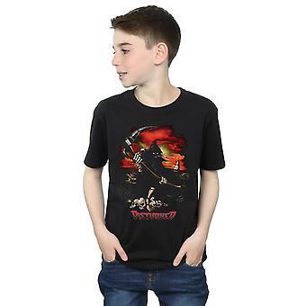 Disturbed Boys Battle Grounds T-Shirt