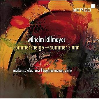 Killmayer / Schafer / Mauser - Sommersneige / sommerens afslutning [CD] USA import