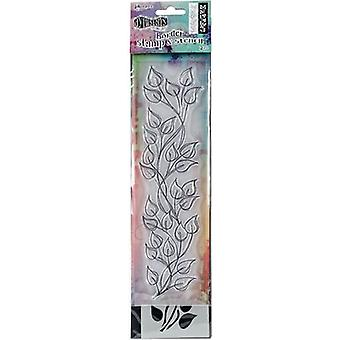 Dyan Reaveleys Dylusions Clear Stamp & Schablone Set 9