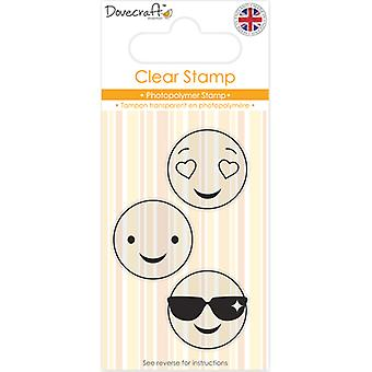 Dovecraft Smiley Clear Stamp-Shades DCSTP085