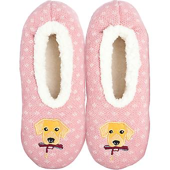 Novelty Slippers-Dog - Small/Medium KBWFS-49SM
