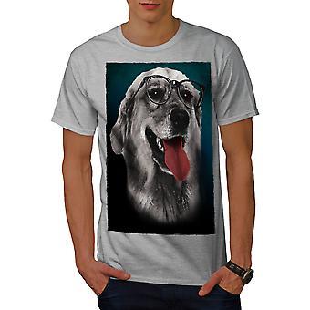 Rotveiller Cute Men GreyT-shirt | Wellcoda