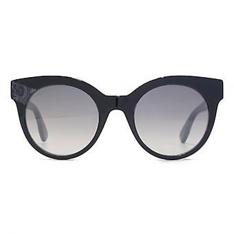 Jimmy Choo Mirta Sunglasses In Black Glitter