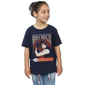 Filles de Star Wars Han Solo Rock Poster T-Shirt