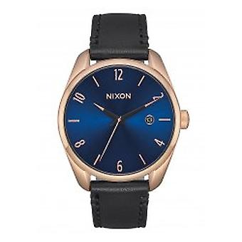Nixon The Bullet Leather Rose Gold / Indigo / Black (A4732763)