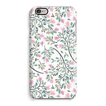 iPhone 6 / 6 s Full Print Fall (glänzend) - zierliche Blumen