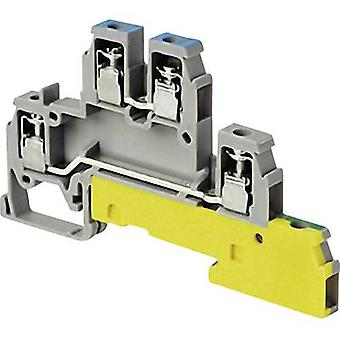 Industrial terminal block 6 mm Screws Configuration: Terre, L
