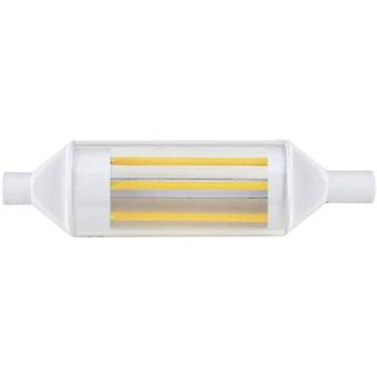 LED R7s Tubular 3.5 W = 40 W Cool white (Ø x L) 20 mm x 78 mm EEC: A+ DioDor Filament 1 pc(s)
