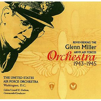 US Air Force orkester - huske Glenn Miller Army Air Corps Orches [CD] USA importen
