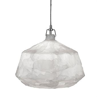 Clouds Medium Chrome And Acrylic Pendant - Searchlight 3396wh