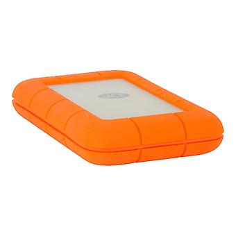 LaCie Rugged Thunderbolt 5 TB USB 3.1 Type/integrated cable