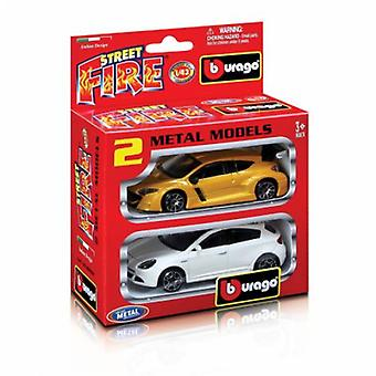 Burago 1/43 Street Fire Set 2 Cars