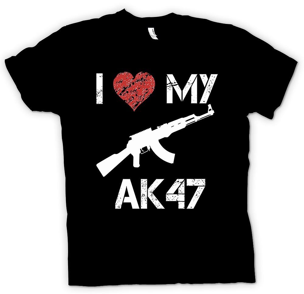 Kids T-shirt - I Love My AK47 - Funny
