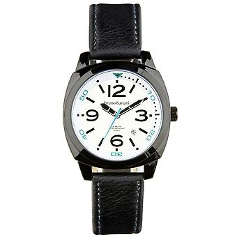 Bruno Banani watch wristwatch of Ketos leather analog BR30017