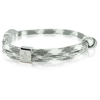 Skipper bracelet surfer band node maritimes bracelet white/grey 6793