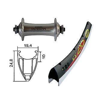 Bike parts 28″ front wheel Mavic CXP + Shimano Ultegra (QR)