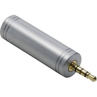 Adaptador de Jack Audio/RCA electrónica 1103096 BKL [1 x conector de 2,5 mm - 1 x conector Jack 3,5 mm] oro