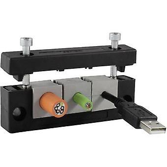 Icotek KEL-E4 Cable router Terminal Ø (max.) 17 mm Polyamide Black 1 pc(s)