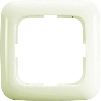Busch-Jaeger 1x Frame Duro 2000 SI Cream-white 2511-212