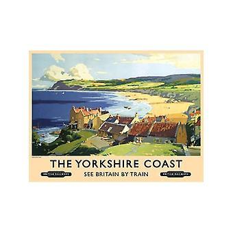 Wybrzeża Yorkshire (stary szyna Ad.) Średniej wielkości blachy Zarejestruj 300 X 200 Mm