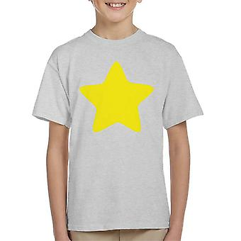 Steven Universe Yellow Star Kid's T-Shirt