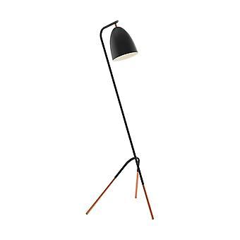 Eglo Westlington Slouch Black And Copper Modern Table Lamp