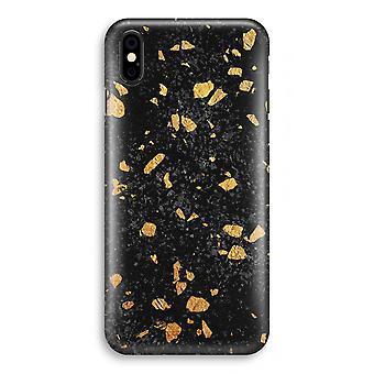 iPhone XS Full Print Case (Glossy) - Terrazzo N°7
