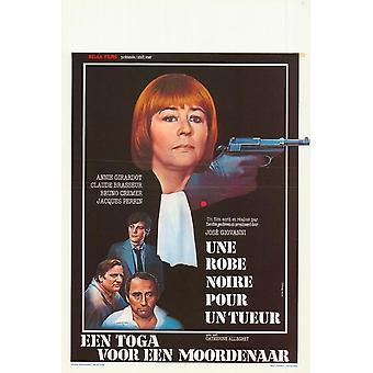 Une robe noire pour un tueur Movie Poster (11 x 17)