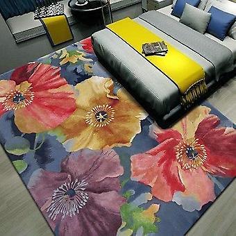 Европейский цветочные 100% шерсти ковер для гостиной прихожей проход коридор большой коврик коврики украшения этаж ковры изготовленные на заказ
