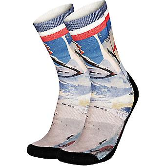 Pullin So-Long Vintageski Crew Socks
