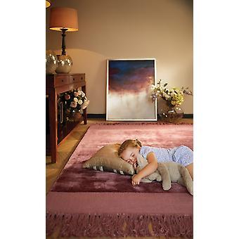 Karma tofs Tuscan Rose rektangel mattor Plain/nästan slätt mattor