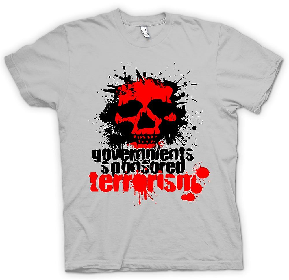 Mens T-shirt - Government Sponsored Terrorism