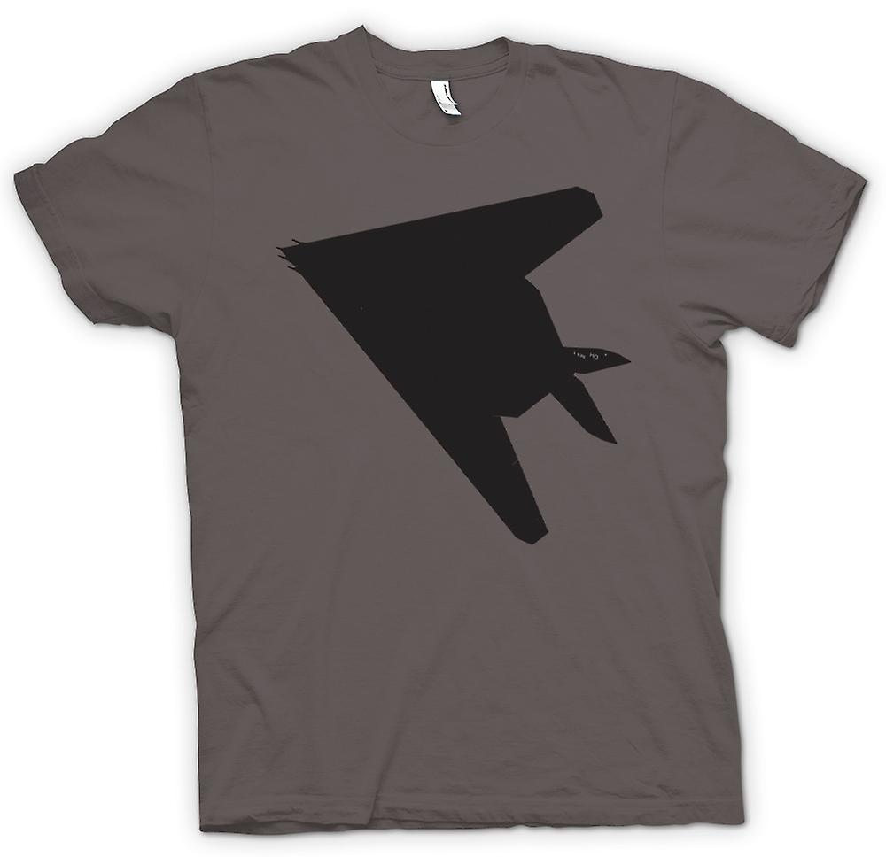 Mens T-shirt - Lockheed F-117 Nighthawk - Stealth Fighter Underside