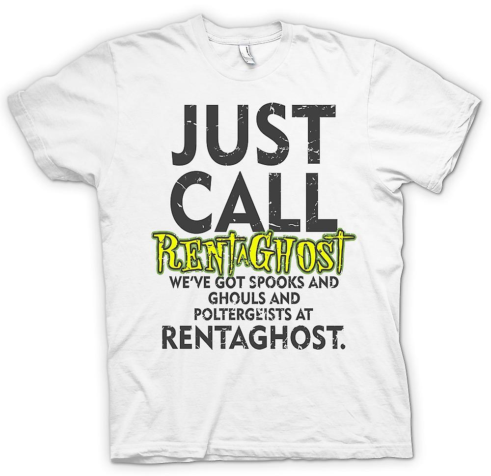 Womens T-shirt - Just call Rentaghost - Cool Retro TV Inspired